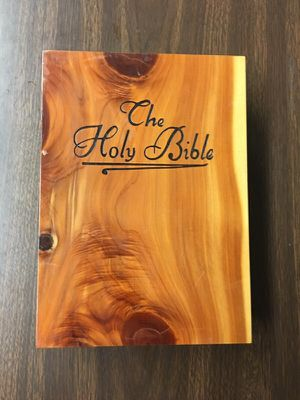 Bible wood box antique for Sale in Boston, MA