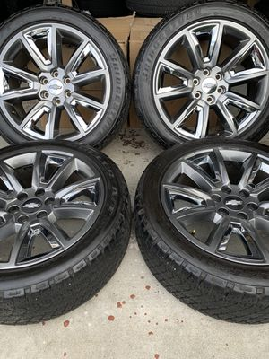 "Photo 22"" Chevy factory wheels"