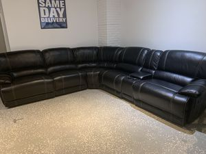 New and Used Black sectional for Sale in Tampa, FL - OfferUp