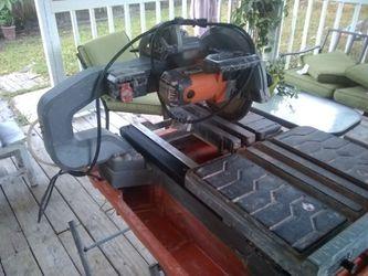 Tile cutting machine Thumbnail
