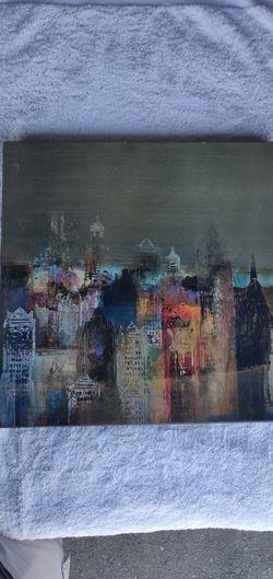 Cityscape painting Thumbnail