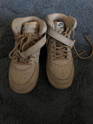 Nike AiR force 1 mid Suede Tan for Sale in Woodbridge, VA