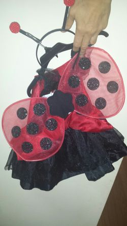 Cute lady bug costume for baby 6m -2 years Thumbnail