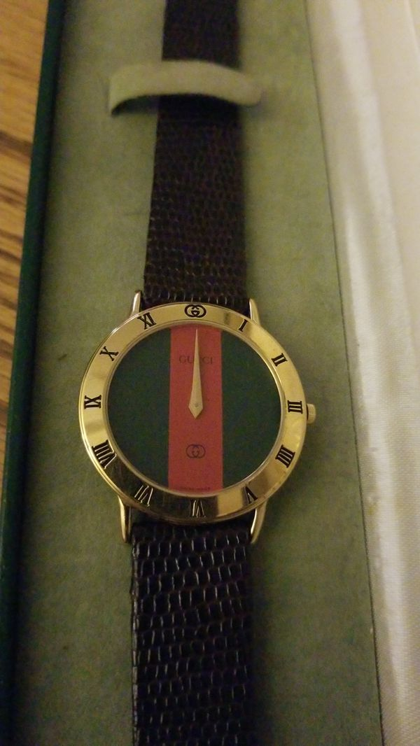 4c348f945cc Men s Red and Green Face Gucci Watch for Sale in West Palm Beach