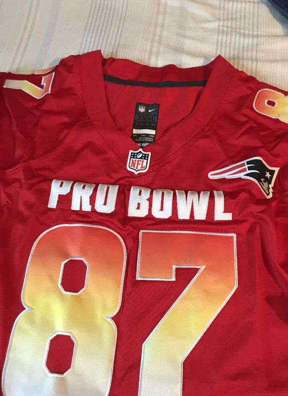 new product 35420 da838 Rob Gronkowski patriots 2018 Pro bowl jersey! 3XL for Sale in Pittsburgh,  PA - OfferUp