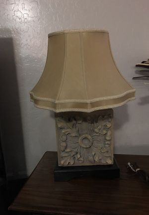 Heavy lamp for Sale in Laveen Village, AZ