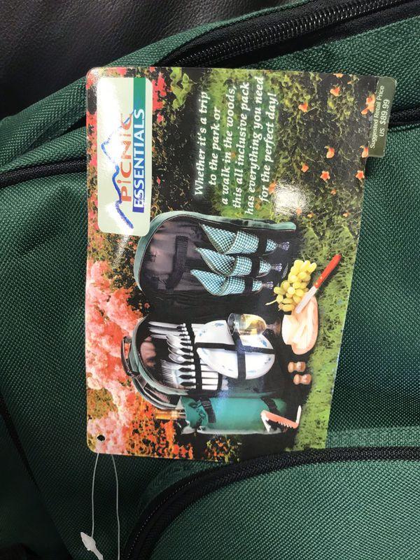 Picnic Bag For 4 For Sale In Boca Raton Fl Offerup