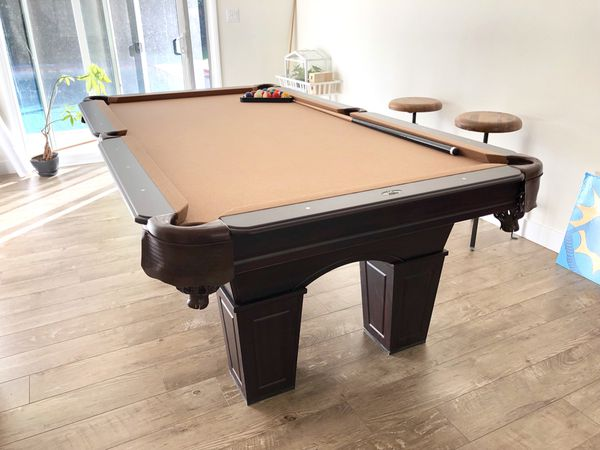 Sportcraft Wrightwood 96 Billiard Pool Table With Table