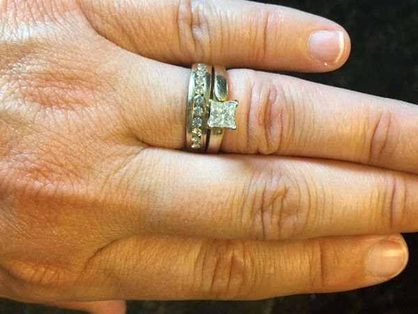Gorgeous Lady S Engagement Ring Wedding Band For Sale In Pearland