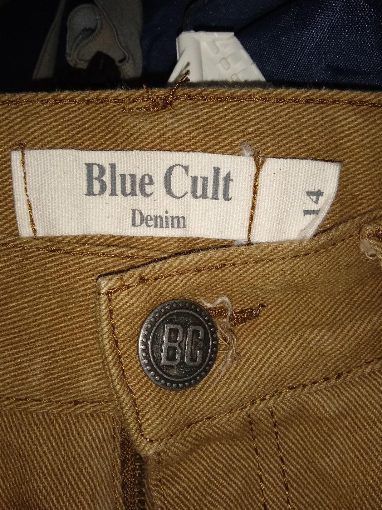 Size 14 blue cult kids denim