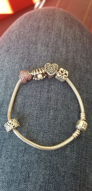Pandora charm bracelet for Sale in Rockville, MD