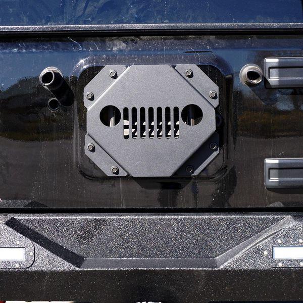 Vent Cover Tire Carrier Delete Kit Tramp Stamp For Jeep JK Wrangler 07 17