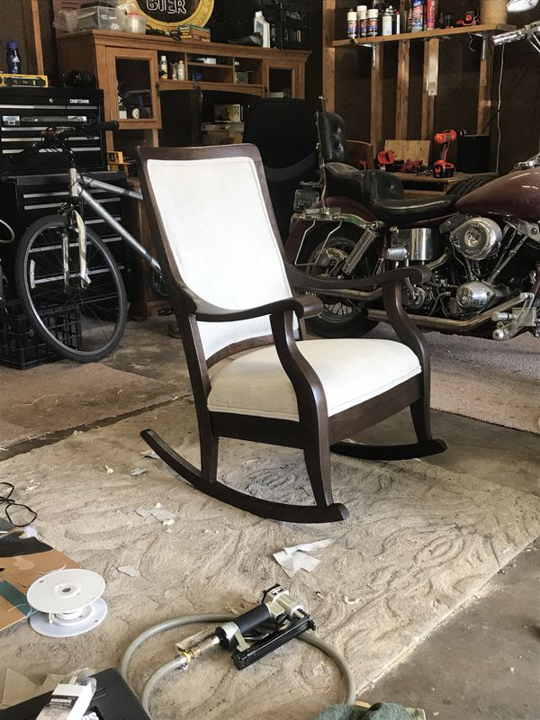 - Rehabbed Antique Rocking Chair (Antiques) In Bolingbrook, IL - OfferUp