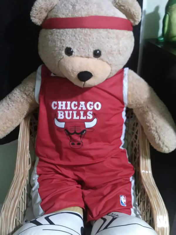 0b8be0e1522b4 Live size Chicago bulls bear for Sale in Melrose Park