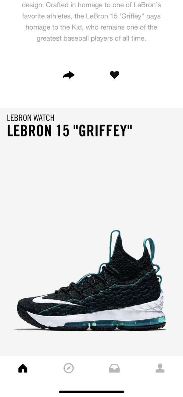 on sale b5909 f3e76 LeBron Griffey 15 Limited Edition for Sale in Richmond, TX - OfferUp