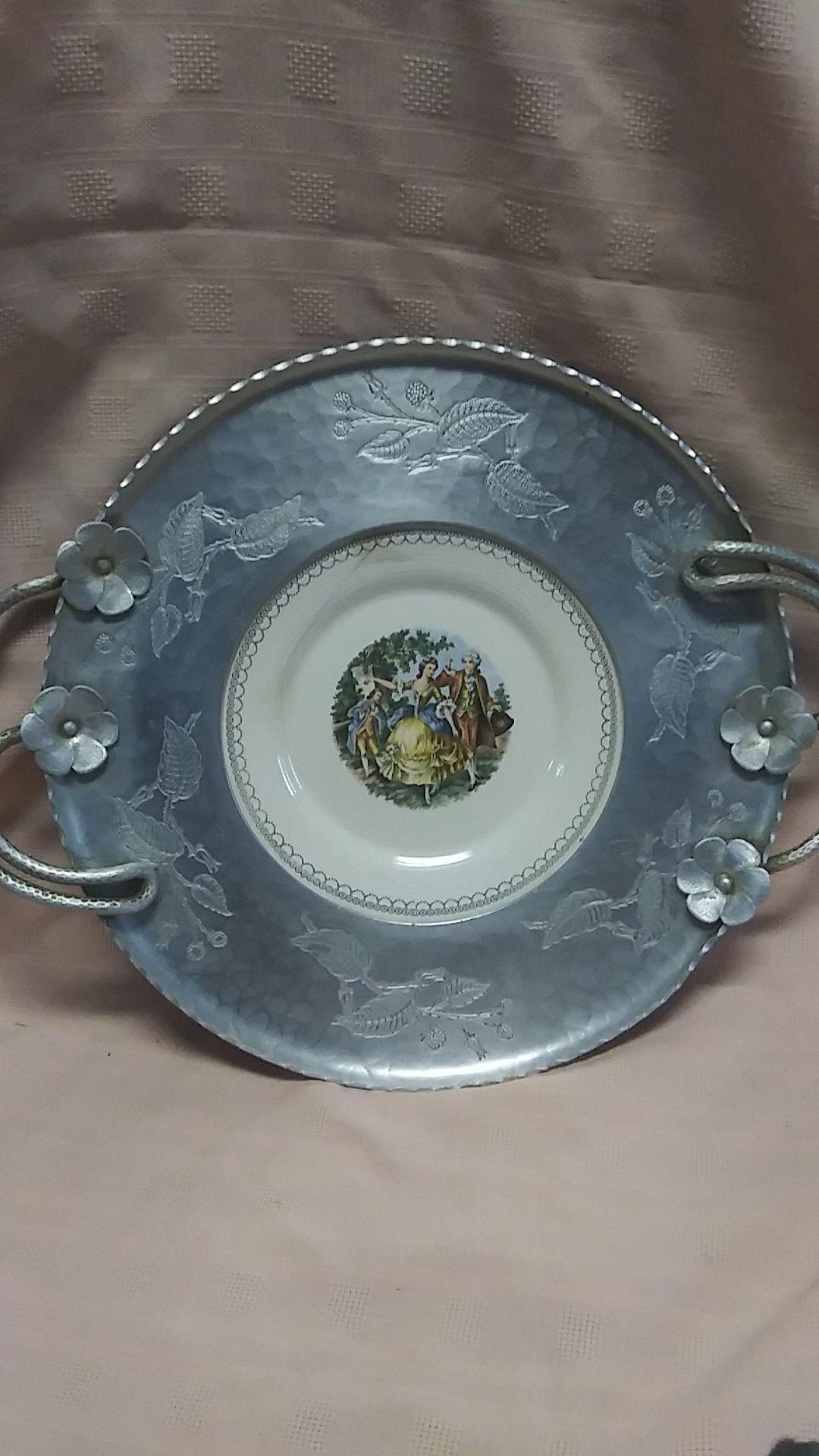 Vintage Wrought Farberware Tray