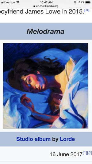 Lorde melodrama tickets for Sale in New York, NY