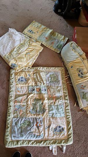Baby crib blanket set for Sale in San Antonio, TX