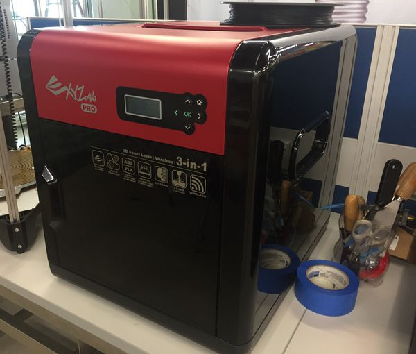 XYZ Printing Da Vinci Pro WiFi enabled 3D Printer for Sale in Troutdale, OR  - OfferUp
