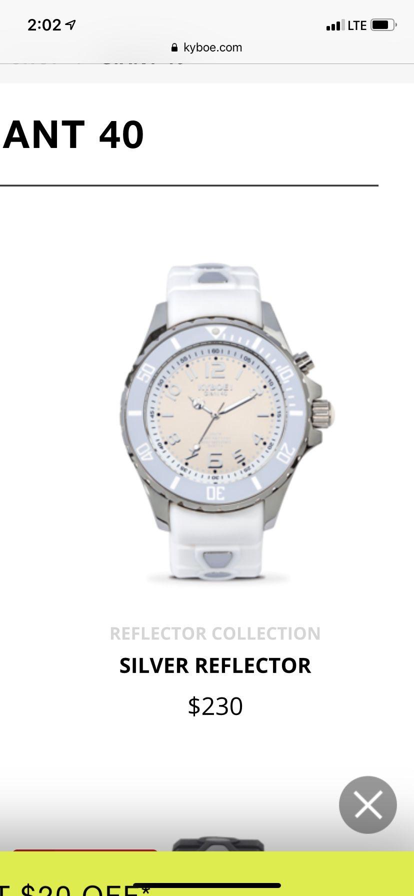Kyboe! Giant 40 watch