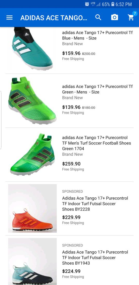 adidas ace tango 17 + purecontrol tf per la vendita a indianapolis,