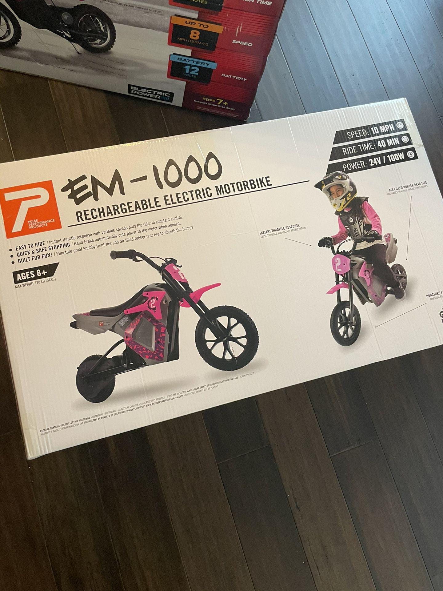 Kid Electric Dirtbike