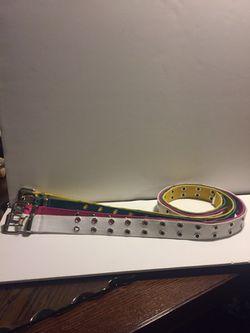 Brand bew belts $10 all 3 Thumbnail
