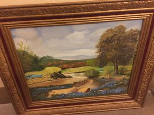 """Oil painting by E Johnson 16""""x 20"""" for Sale in Austin, TX"""