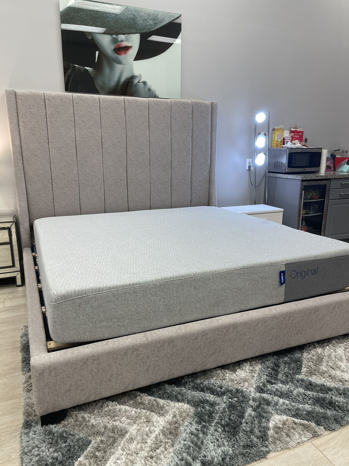 King Bed Frame // Financing Available