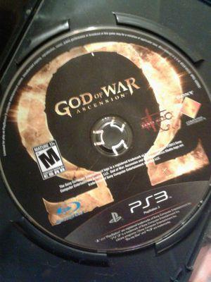 God of war ascension ps3 for Sale in Denver, CO