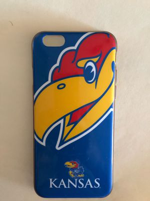 Kansas Jayhawk (KU) iPhone 6 case for Sale in Concord, NC