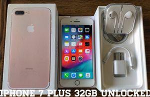 Iphone 7 Plus 32GB GSM UNLOCKED (Like-New) Rose for Sale in Alexandria, VA
