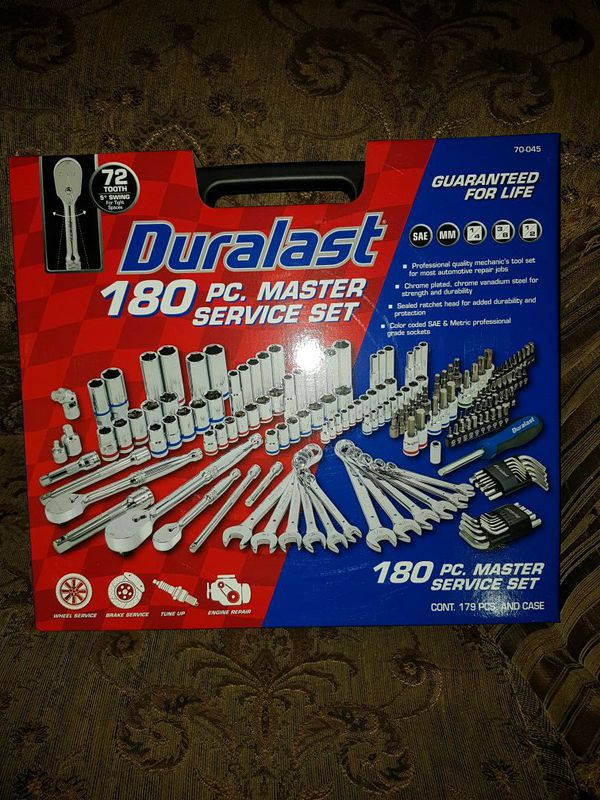 duralast 180 pc.set for sale in paramount, ca - offerup