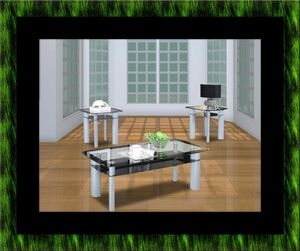 3pc glass coffee table for Sale in Fairfax, VA