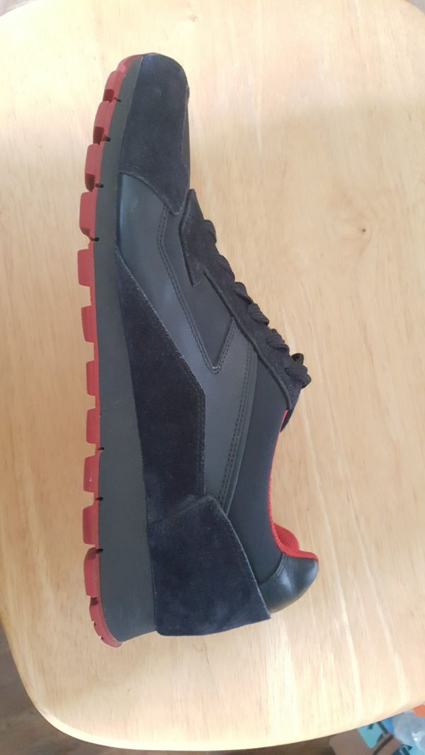 0567e22ef93 Red Bottom men s Prada Suede sneakers for Sale in San Antonio