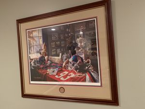 """""""OLE MISS LEGACY"""" By Daniel Moore - Beautifully Framed and Numbered Lithograph / Print for Sale in Arlington, VA"""