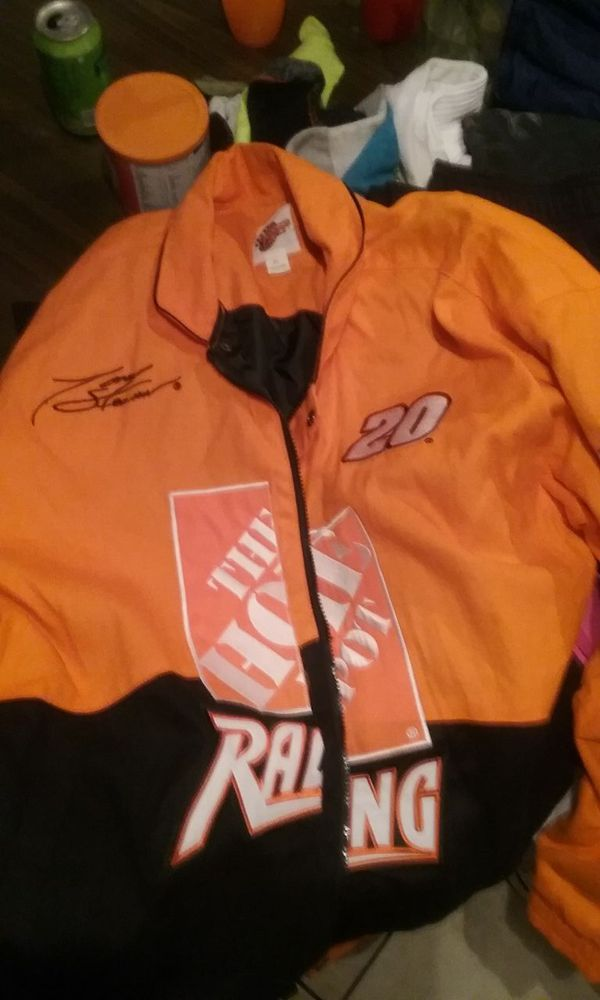 Tony Stewart S Home Depot Jacket Signed For Sale In