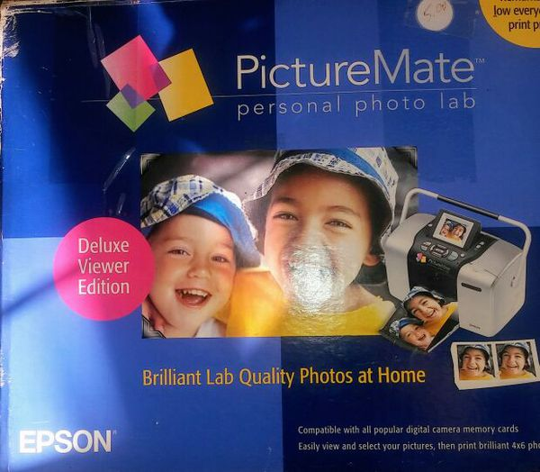 Epson Picturemate Photo Printer Needs Ink Cartridge Have Old One