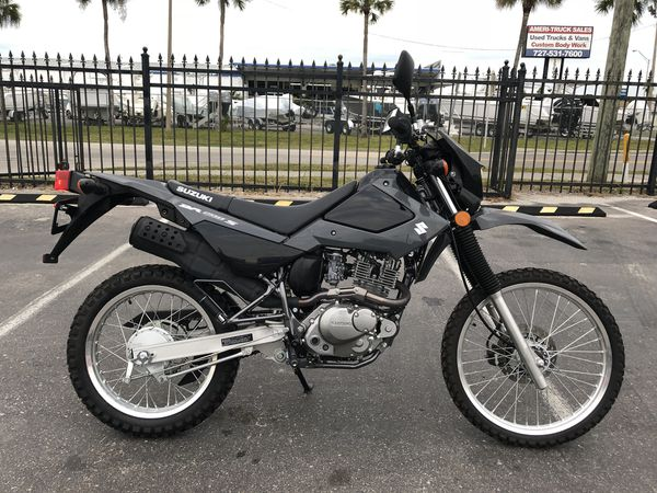 2016 Suzuki Dr200s Street Legal