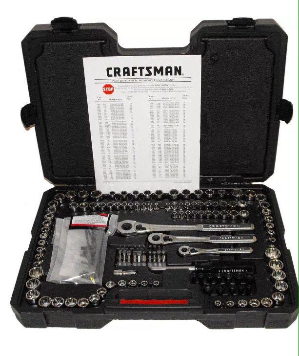 220 pcs craftsman tools