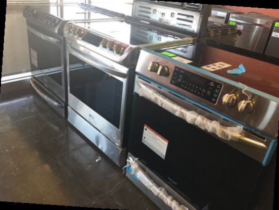 Brand New Electric Slide In Stoves