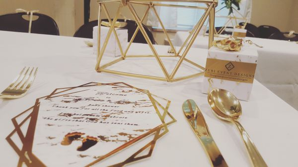 Geometric centerpieces baby bridal shower wedding decorations decor geometric centerpieces baby bridal shower wedding decorations decor general in houston tx offerup junglespirit Image collections