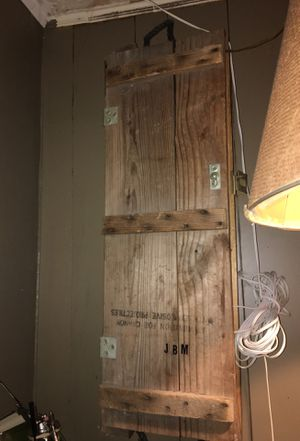 Wooden vintage army ammo box (antique) for Sale in Burlington, NC