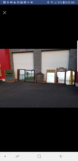 20 mirrors for sale ranging from 10 to 60 dollars for Sale in Chantilly, VA