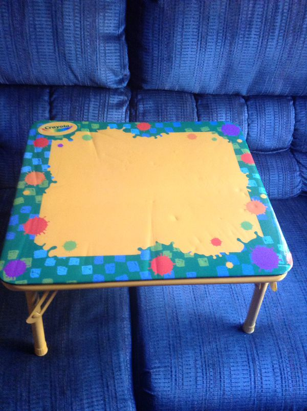 Table,coloring table,drawing table,kids table,short legs,folding ...