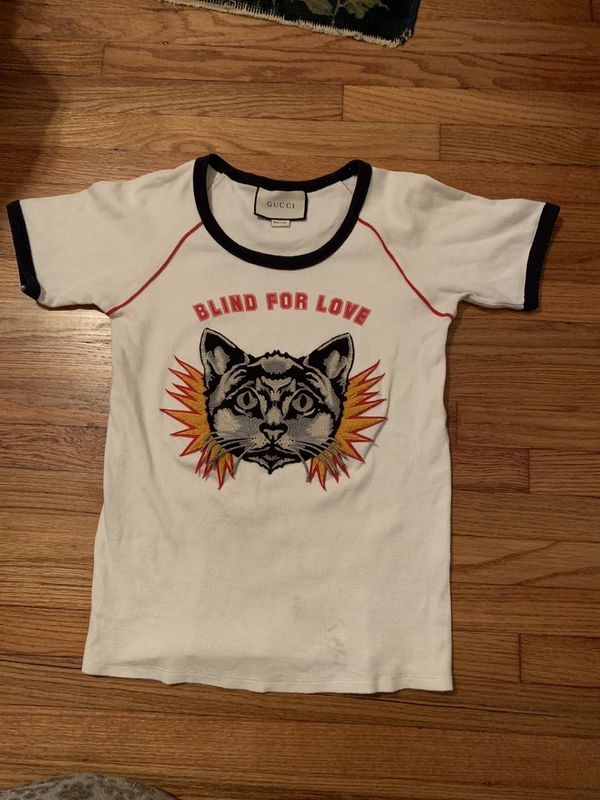 9af38b0b0 GUCCI Blind for Love Tee Shirt S for Sale in Los Angeles, CA - OfferUp