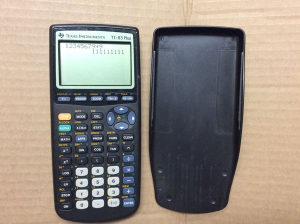 Texas Instruments TI-83 plus calculator for Sale in Kent, WA - OfferUp