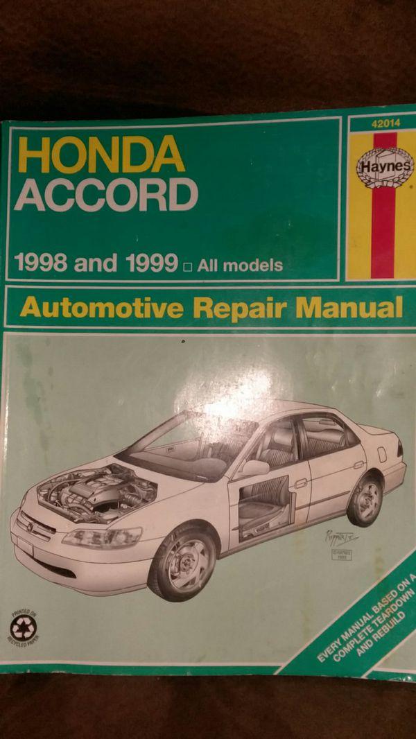 Repair manuals & literature for 1999 honda accord for sale | ebay.