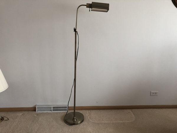 Lamp Standing Reading Metal 35 Furniture In Norridge Il Offerup