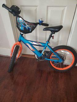 "Dynacraft 16"" Hot Wheels Boy's Bike, Blue Thumbnail"